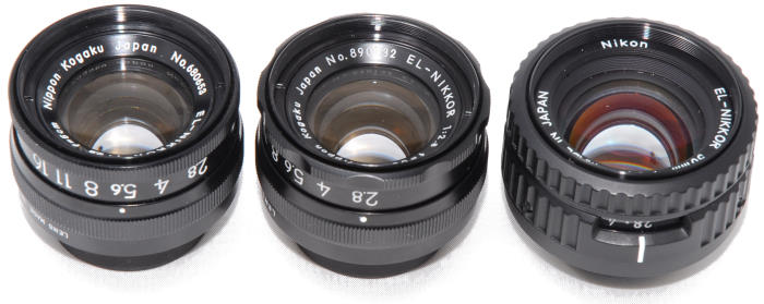 Enlarger lenses - From ordinary to unusual